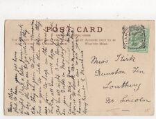 Miss Alice Kirk Dunston Fen Southrey Lincoln 1905 543a