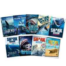 Shark Week Discovery Channel TV Series 9 Season Box / DVD Set(s) Collection NEW!