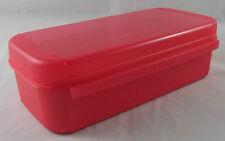 Tupperware a 189 Bellevue Boîte 980 ml Récipient Box Corail Rose Rouge Nouveau Neuf dans sa boîte