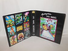 Custom Made 1992 Marvel Masterpieces Series 1 Card Binder Graphics Only Iron Man