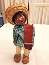 MEXICAN FOLK ART Paper Mache Man Figurine