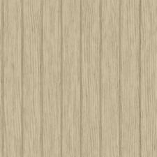 Wallpaper Smooth Faux Bead Board Ecru and Tan