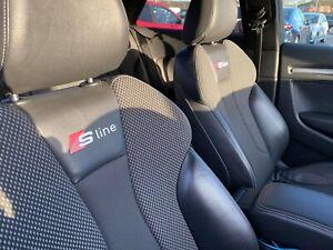 Audi S-line Seat Decal / Stickers / Emblems A1, A3, A4, A5, A6, A7
