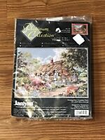 "Janlynn Platinum Collection Tulip Time Counted Cross Stitch Kit NEW 17"" x 12.5"""
