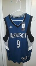 NWT Adidas Minnesota Timberwolves Swingman Ricky Rubio #9 Jersey Sz S +2