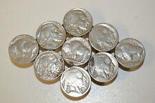 Nice Vintage Custom Women's Buffalo Nickel Handmade Boho Coin Belt Buckle Rare