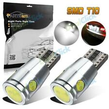 2Pcs Error Free 168 194 SMD LED White High Third Brake Trunk Cargo Lights Bulbs