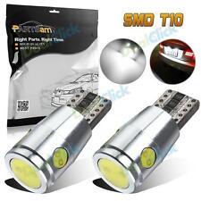 2Pcs Error Free 168 194 SMD LED White High Third Brake Trunk Cargo Lights Bulbs