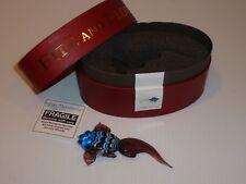 Fitz and Floyd Glass Menagerie Purple Tail Fish Glass Figurine/Box