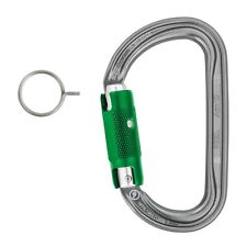 Petzl AM'D PIN-LOCK carabiner REQUIRES KEY TO OPEN for zipline parks PM34APL