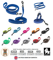 Truelove Air Mesh Dog Lead Nylon Padded Leash 3M REFLECTIVE DOG LEADS XS S M L
