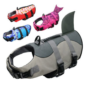 Life Jackets for Medium Large Dogs Preserver Neoprene Safety Vest for Swimming