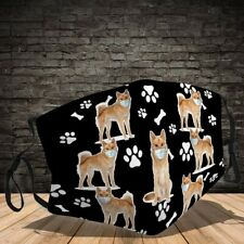 Finnish Spitz Dog Face Wear A Mask Lover Dog Gift Face Mask