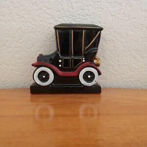 ANTIQUE CAR BOOK END 1 CERAMIC 1913 CHEVROLET REPLICA JAPAN