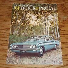 Original 1961 Buick Special Deluxe Edition Sales Brochure 61