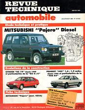RTA revue technique automobile n° 517/518 MITSUBISHI PAJERO DIESEL
