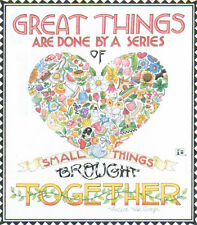 Great Things By Small Things-Handcrafted Magnet-Using art by Mary Engelbreit