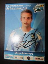 1290 Chemnitzer FC CFC Steven Sonnenberg 2007 - 2008 original signierte AK