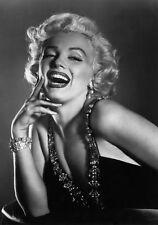 Sexy Photo 8.25x11.75 Marilyn Monroe Close Up Portrail Glamorous Dress #070