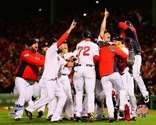 2013 World Series TEAM celebrating Boston Red Sox Champs LICENSED 8x10 photo