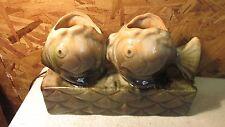 Mid Century Fish TV Lamp - American Art Potteries