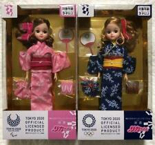 Takara Tomy Licca Yukata Doll Tokyo 2020 Olympic Emblem 135067