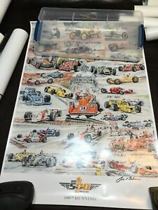 Indianapolis Motor Speedway Indy 500  Poster