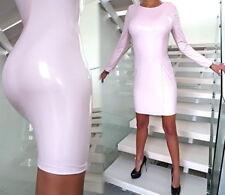 M Clubwear-Damenkleider mit Rundhals-Ausschnitt