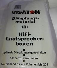 VISATON Dämpfungsmaterial für Lautsprecherboxen 20 Liter 090063