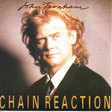 "JOHN FARNHAM  Chain Reaction PICTURE SLEEVE 7"" 45 record + juke box title strip"