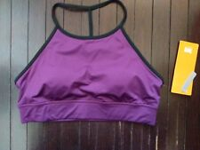 NWT Lucy Unhindered Racerback low impact GLOXINIA Sports Bra- Size L $59 retail