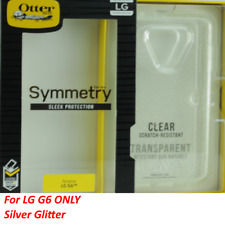 New LG G6 Otterbox Symmetry Clear Case - Transparent Glitter 77-55435