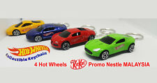 Hot Wheels Keychain Kit Kat Nestle Promotions Limited Edition Lot of 4 Keyring