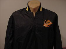 VINTAGE 1980's Vancouver Canucks Men's XL Pullover Spring/Fall Jacket, NEW&NICE!