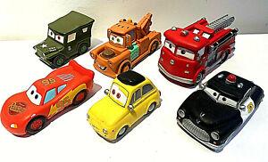Disney Pixar Cars Bath Toys Soft Baby Toys Bundle