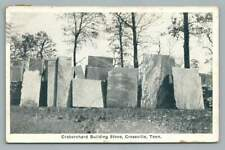 Craborchard Stone Quarry CROSSVILLE Tennessee~Cumberland County Mine Advertising