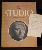 Walt Disney Studio Library 1948 Research Magazine John Hench Ken Anderson Rizzo