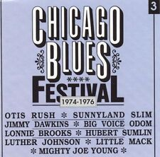 Various Artists - Chicago Blues Festival Vol.3 1974-1976 - Black & Blue New CD