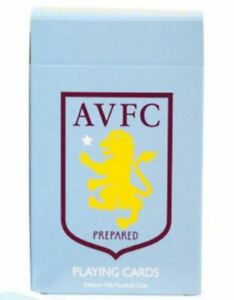 Aston Villa FC Playing Cards Standard 52 Card Deck +Jokers (pp)