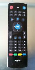 Mando control remoto iR Haier doble cara teclado qwerty