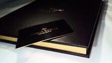 Authentic ROGER DUBUIS Original  men ladies luxury Watch Catalogs book