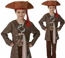 Lujo Jack Sparrow Disfraz Niños Oficial Piratas Del Caribe Disfraz