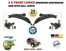 FOR TOYOTA RAV 4 1994-> 2X FRONT LEFT RIGHT WISHBONE SUSPENSION ARM + BALL JOINT