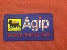 Agip World Oils Formel 1 Racing Team Grand Prix Vintage Aufnäher/-bügler neu