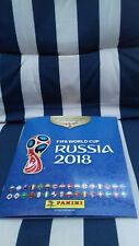 PANNINI FIFA WORLD CUP RUSSIA 2018 OFFICIAL STICKER ALBUM EMPTY + 42 STICKERS