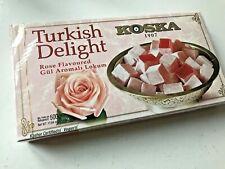 Turkish Delight Rose Flavoured By KOSKA- 500g - Free UK Post