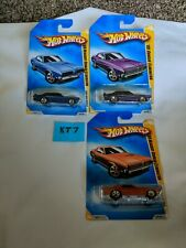 Hot Wheels Lot Of 3/ 3 Versions '69 Mercury Cougar #08 (KT7)
