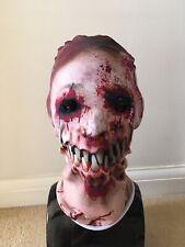 Horror Halloween Photo Realistic Zombie Devil Fabric Mask
