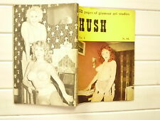 HUSH N° 2 PHOTOS NOIR POUR ADULTES