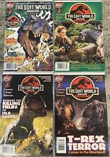 NEAR MINT Lost World Jurassic Park Topps Comics #1-4 RARE All VARIANT COVER Lot
